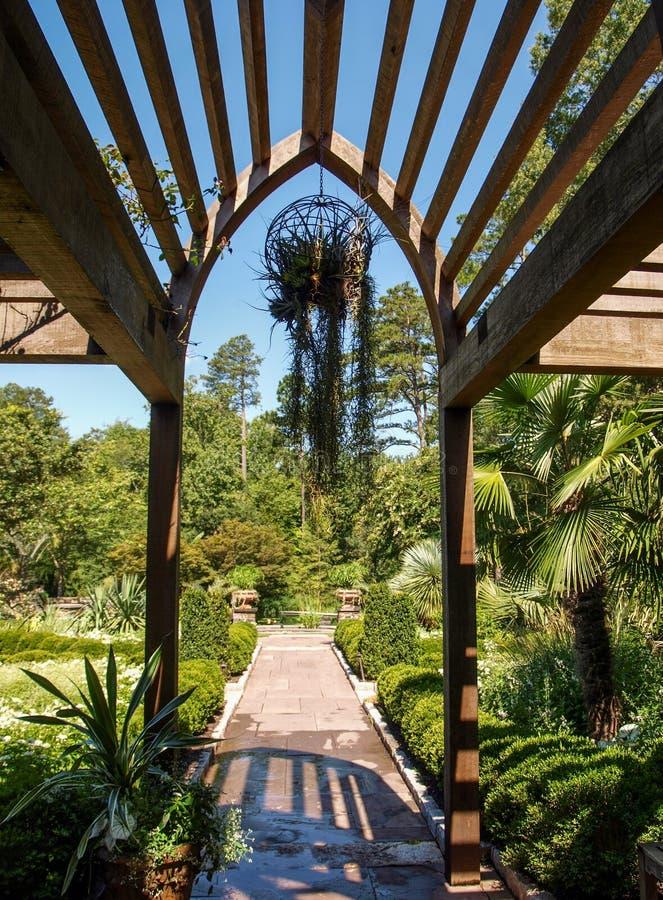 Sara P Diuków ogródy w Durham, Pólnocna Karolina zdjęcie royalty free