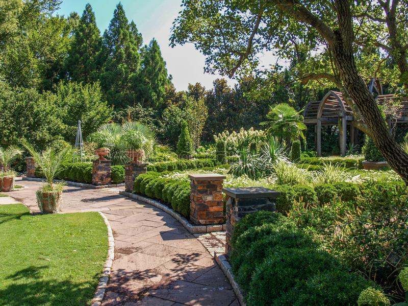 Sara P Diuków ogródy w Durham, Pólnocna Karolina zdjęcia royalty free