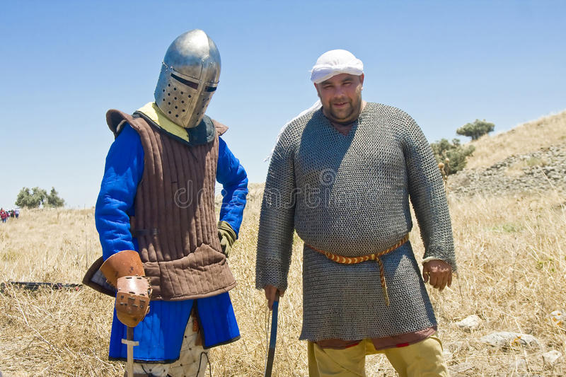 Download Saracen and a Knight editorial photo. Image of legacy - 20443676