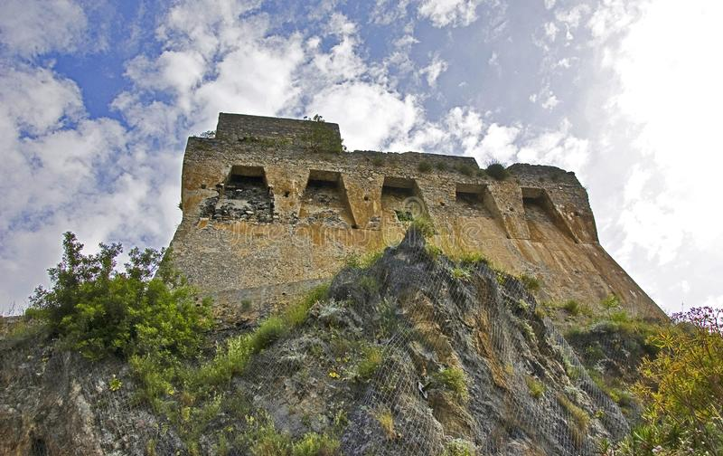 Download Saracen watch tower stock photo. Image of tower, antique - 14700896
