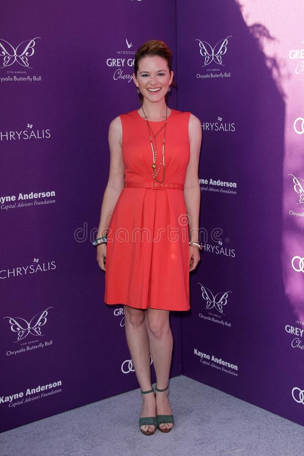 Download Sarah Drew At The 2012 Chrysalis Butterfly Ball, Private Location, Los Angeles, CA 06-09-12 Editorial Photography - Image: 25585582