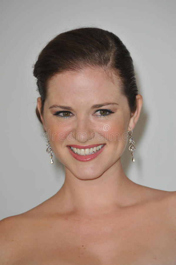 Download Sarah Drew editorial stock image. Image of beverly, hills - 26491399