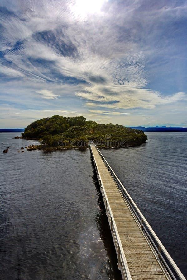 Free Sarah Island, Former Historic Penal Colony, In Tasmania Stock Photography - 141869942