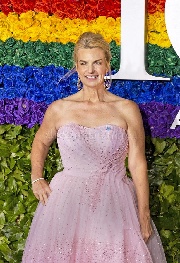 Sarah Kate Ellis bij 2019 Tony Awards royalty-vrije stock afbeeldingen