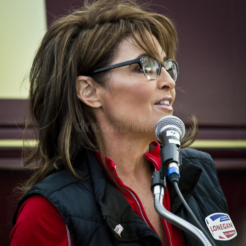 Sarah Palin 14 στοκ φωτογραφία με δικαίωμα ελεύθερης χρήσης