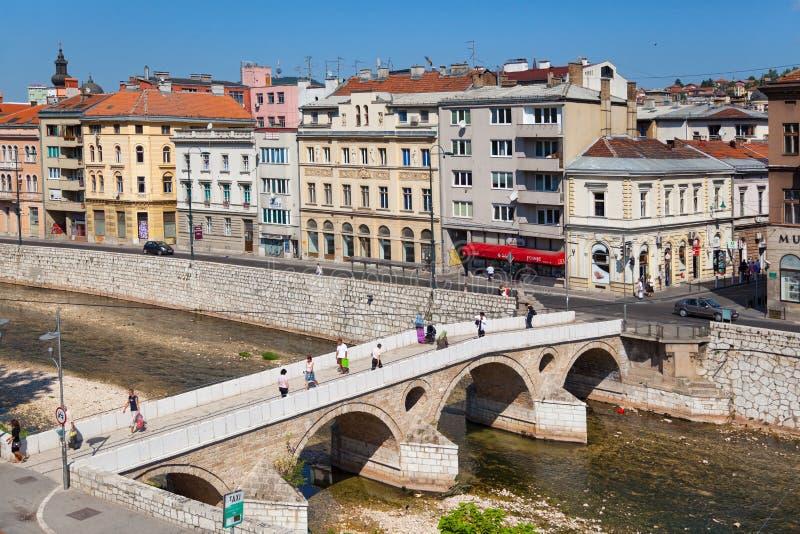 Sarajevo obrazy stock
