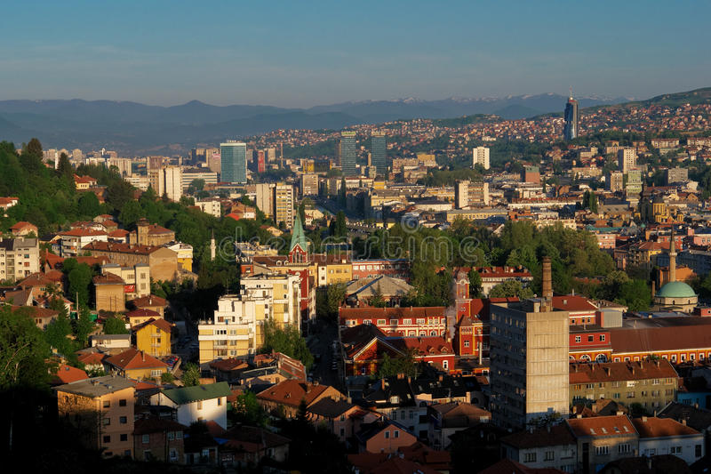 Sarajevo, Bosnia and Herzegovina royalty free stock photos