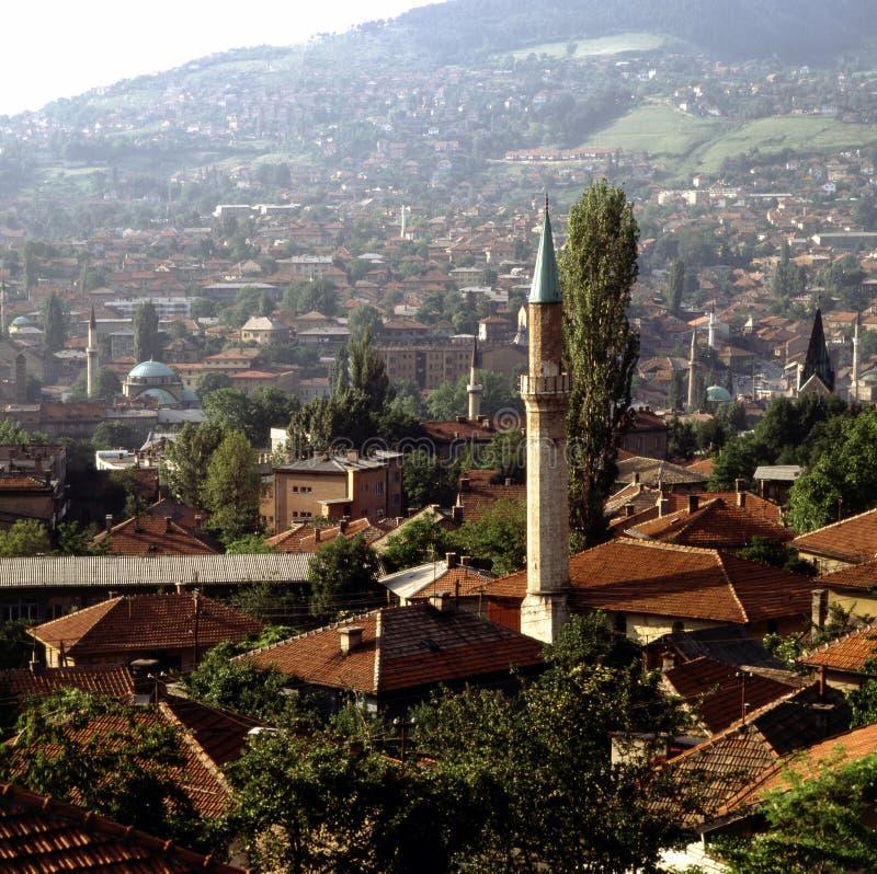 Sarajevo Bosnien-Hercegovina arkivfoton