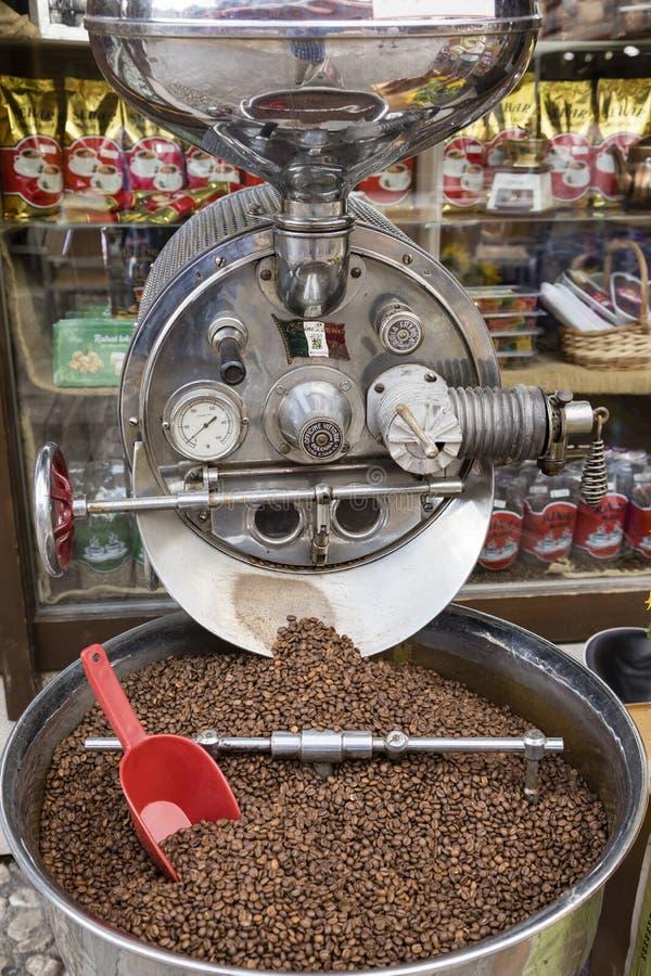 Sarajevo, Bosnien Herzegovina, am 16. Juli 2017: Große Kaffeemühle lizenzfreies stockbild