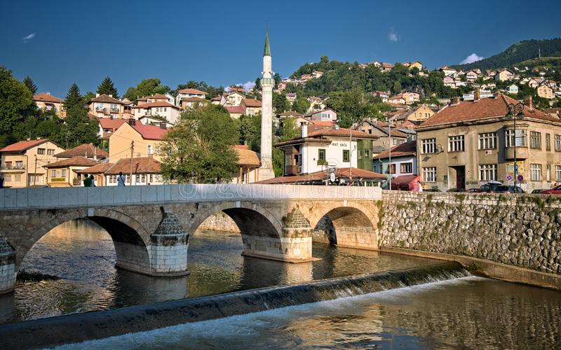 Sarajevo Old Town, Bosnia And Herzegovina royalty free stock photo