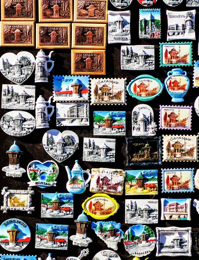 Sarajevo pamiątki dla sprzedaży obrazy royalty free