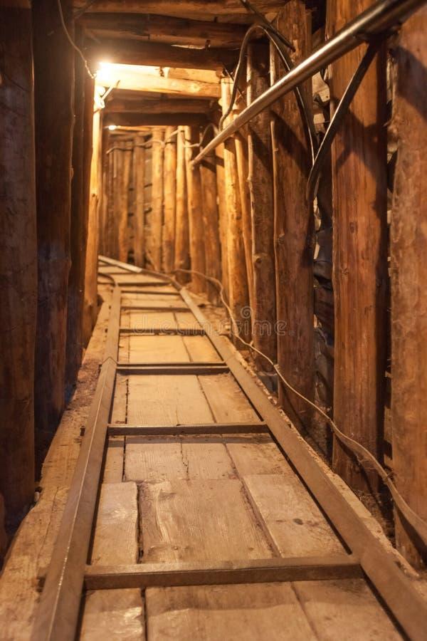 Sarajevo tunel obrazy royalty free