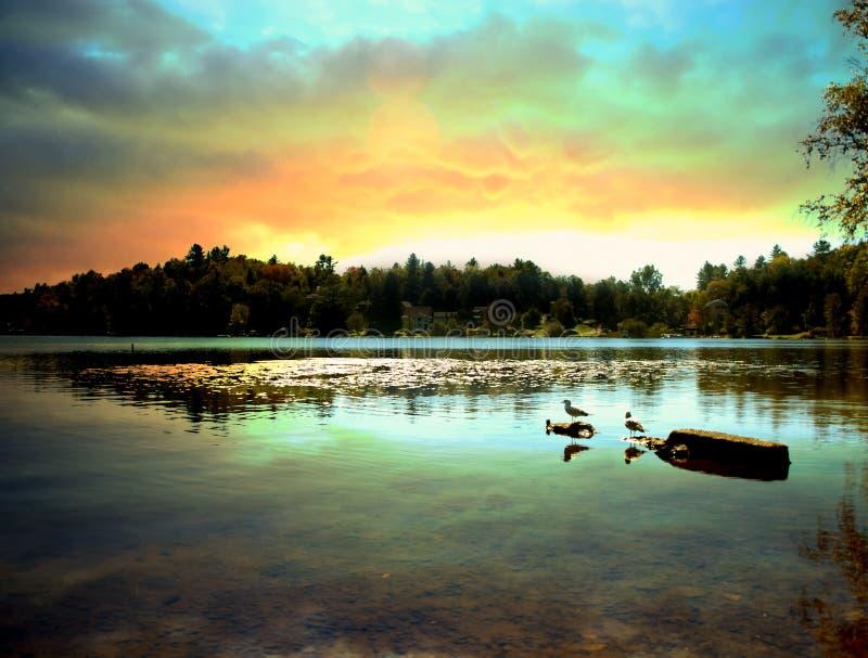 Download Saranac Lake Stock Photos - Image: 26813723