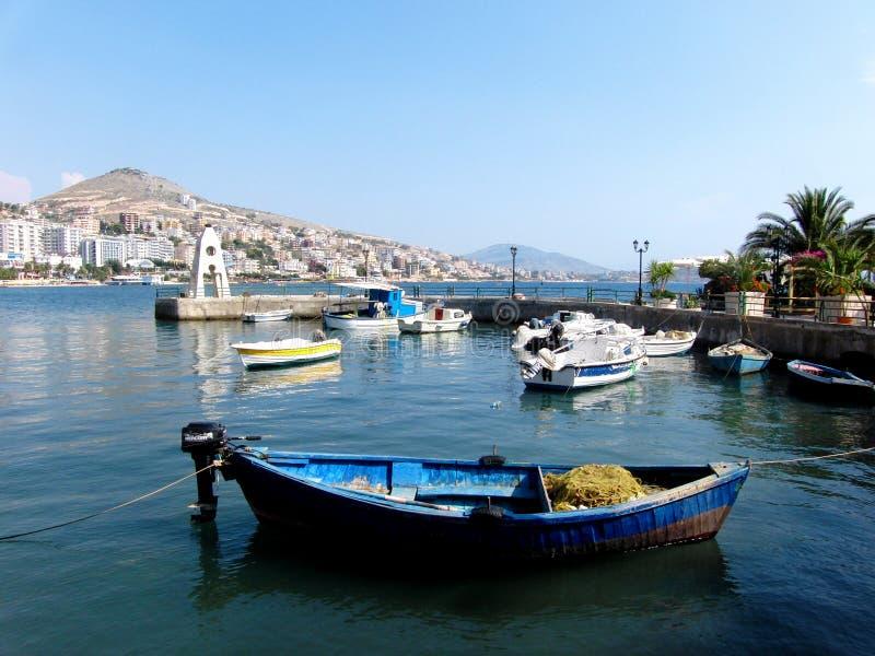 Download Saranda en Albania foto editorial. Imagen de recorrido - 100530581