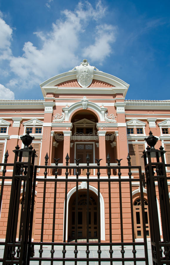 Saranrom Palace, Bangkok, Thailand. The palace has been renovated as a museum stock photography