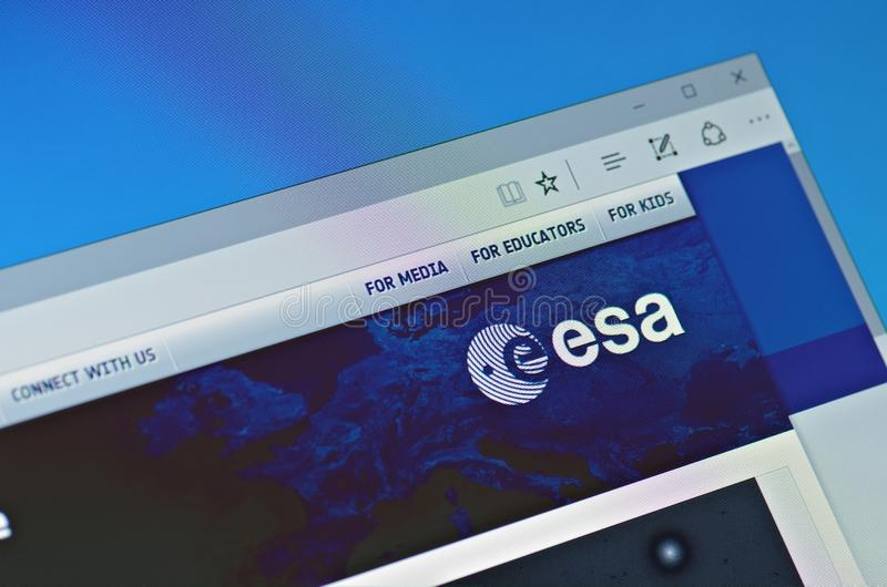 European Space Agency royalty free stock image