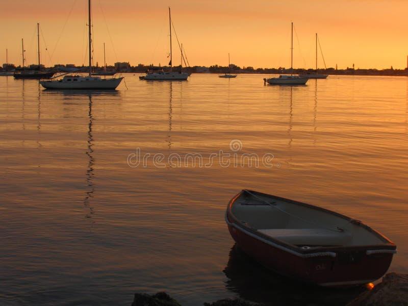 Sarasota city island zdjęcia stock