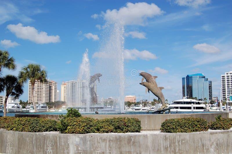 Sarasota Park. Park setting in Sarasota Florida on a clear day