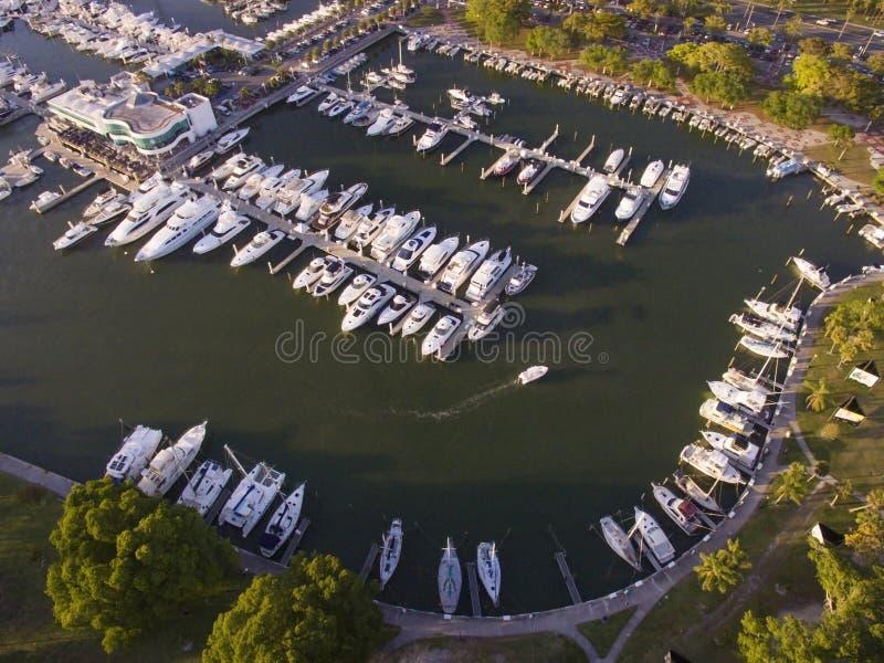 Sarasota, porticciolo del ` s di FL Marina Jack immagine stock libera da diritti