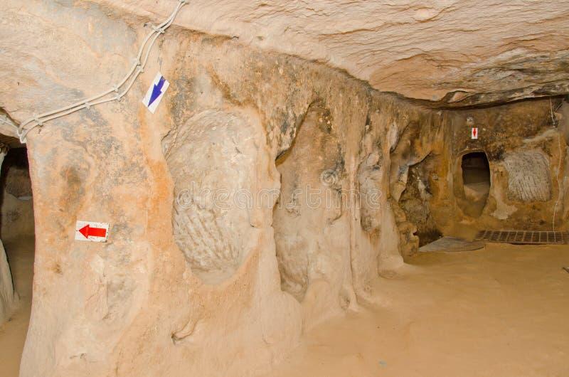 Saratli underground city, Turkey
