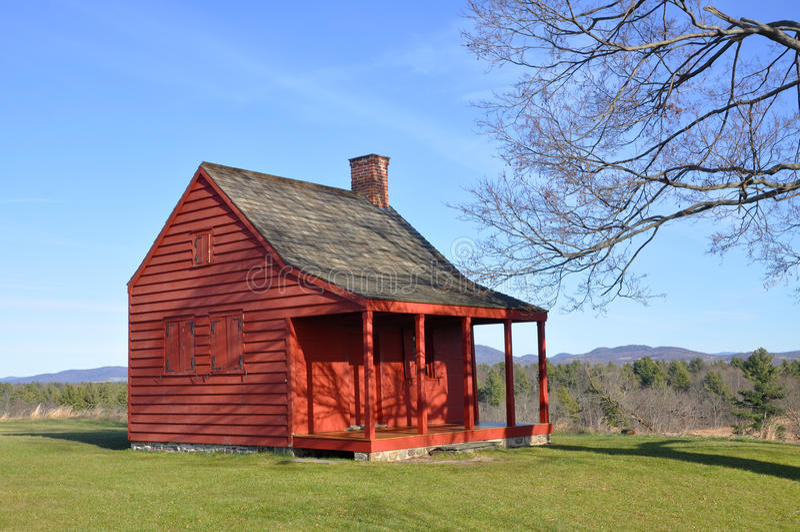 Saratoga Nationaal Historisch Park, New York, de V.S. royalty-vrije stock foto's