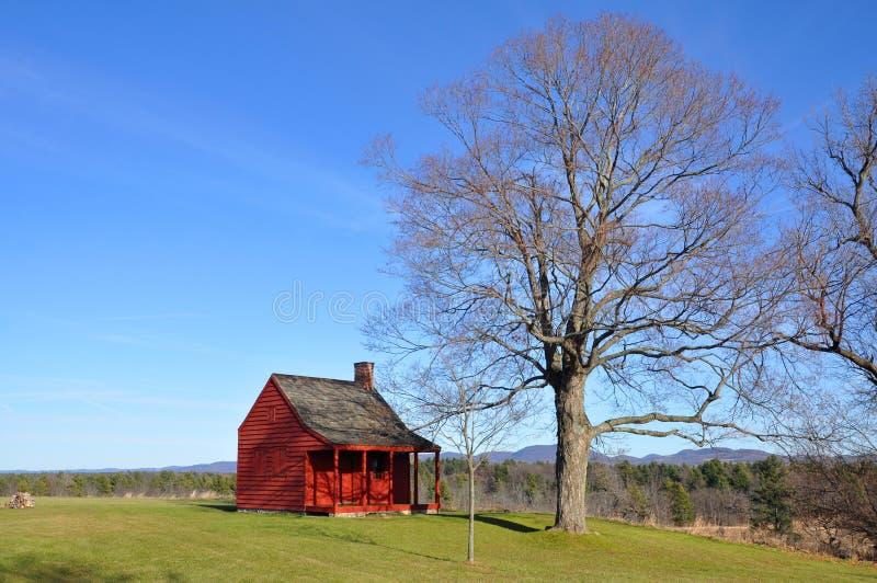 Saratoga parkerar nationellt historiskt, New York, USA royaltyfri fotografi