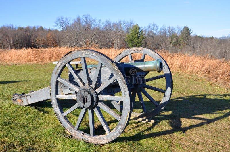 Saratoga parkerar nationellt historiskt, New York, USA arkivfoton