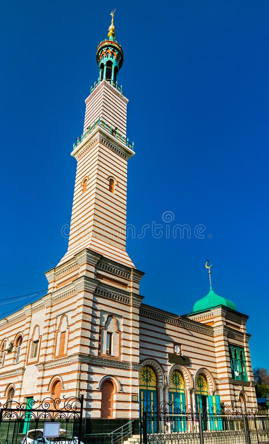 Saratov Cathedral Mosque in Russia. The Cathedral Mosque in Saratov, the Russian Federation royalty free stock photography