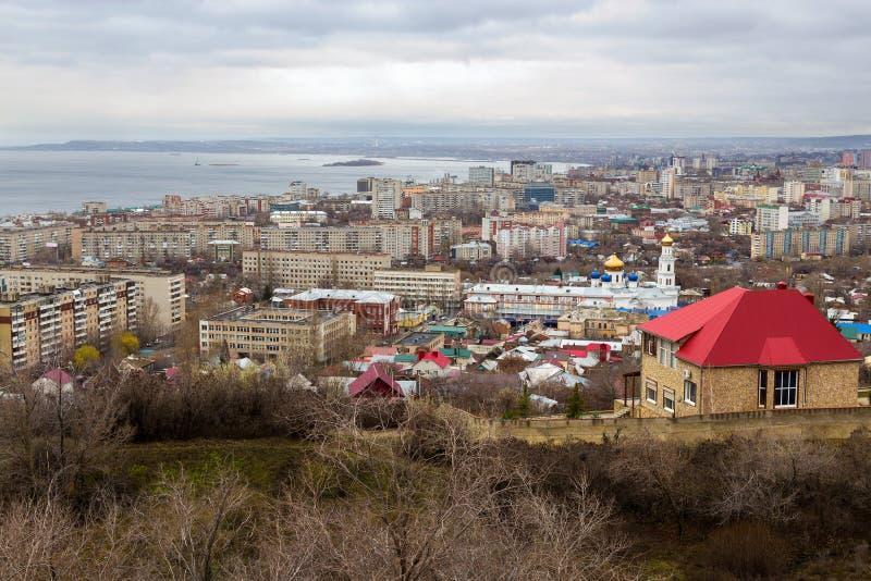 Saratov stad. Ryssland royaltyfri fotografi