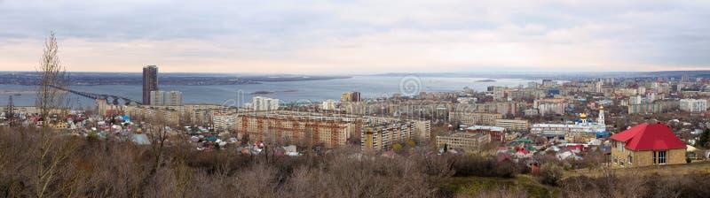 Saratov stad. Ryssland royaltyfri bild