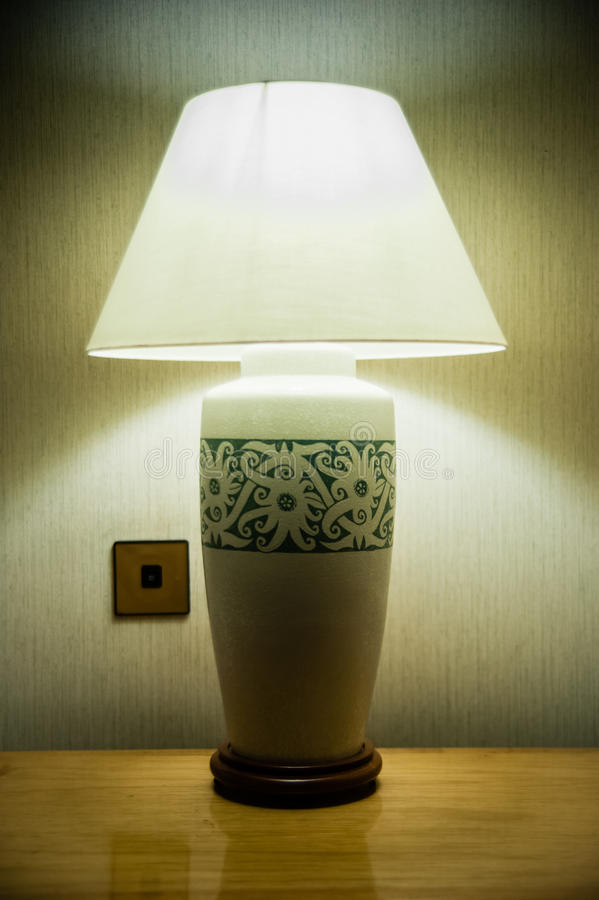 Free Sarawak Craft Table Lamp Royalty Free Stock Photography - 26688867