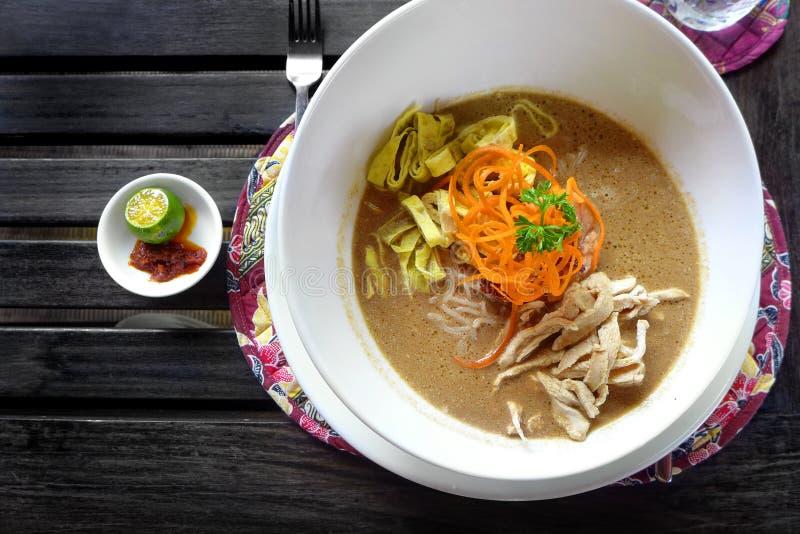 Sarawak Laksa - Popular Ethnic Dish Stock Photography