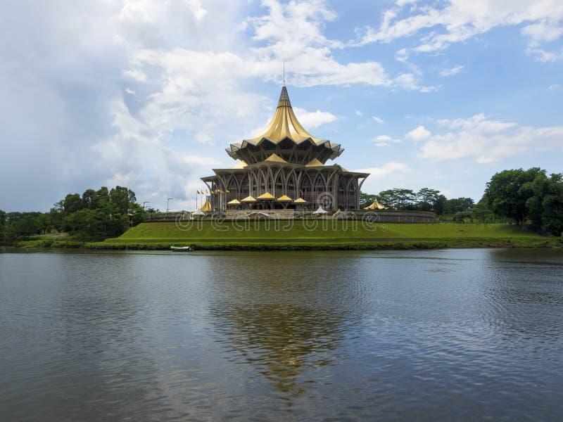 Sarawak State Legislative Assembly Building, Kuching, Malaysia royalty free stock image