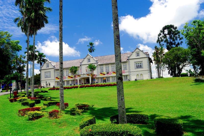 Sarawak tillståndsmuseum arkivbilder