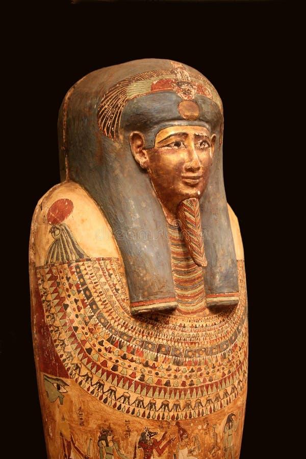 Sarcófago egípcio fotos de stock royalty free