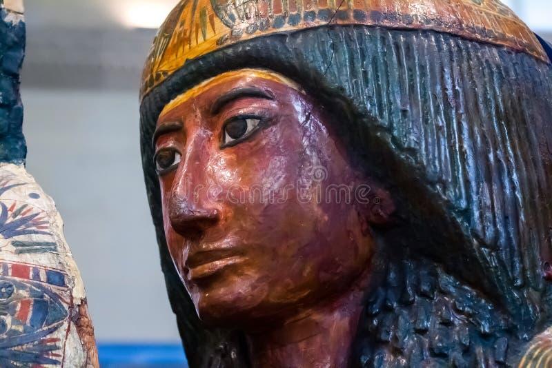 Sarcophage égyptien photographie stock