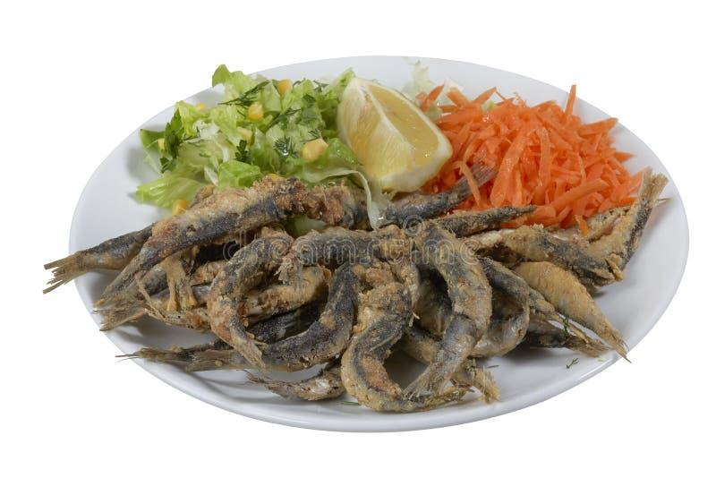Sardalya Tava - sardines grillées par turc photo libre de droits