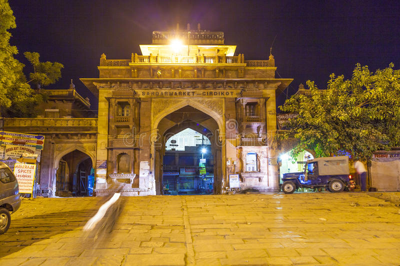 Download Sardar Market At The Clocktower By Night Editorial Photography - Image: 33486947