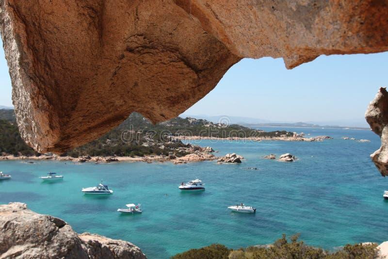 Sardegna, Italie, côte Smeralda photos stock
