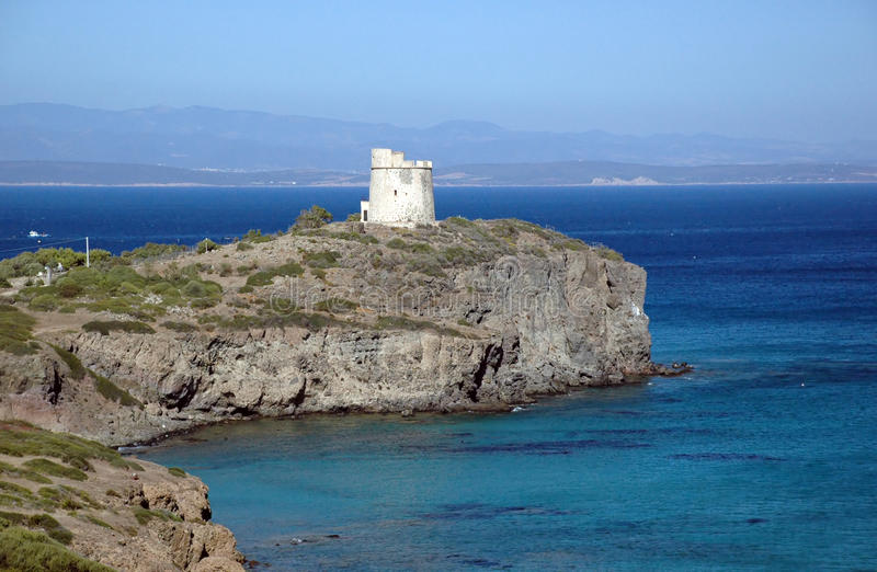 Sardegna - Sant'Antioco (Italia) immagini stock