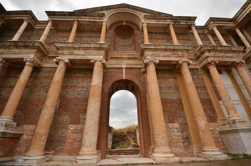Sardes Manisa, Turkiet royaltyfria bilder