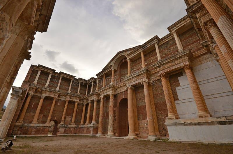 Sardes, Manisa, Turquia fotos de stock royalty free