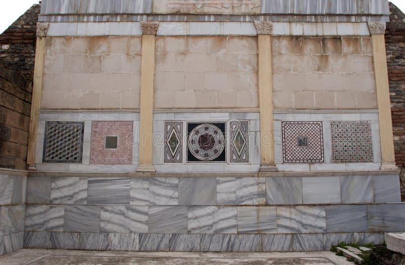 Sardes, Sardeis, Ldyia fotografia de stock royalty free