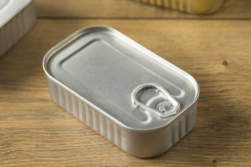 Sardines en boîte salées organiques photos libres de droits