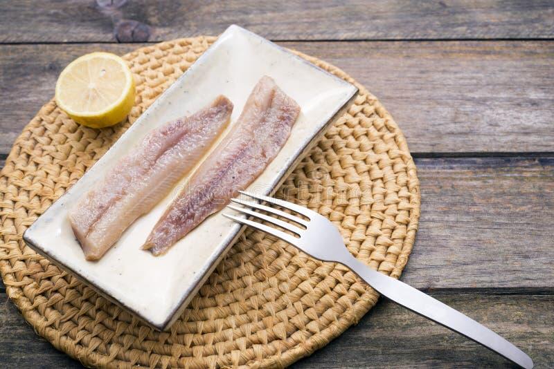 Sardines fumées images stock