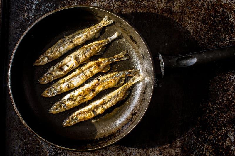 Sardines grillées photos libres de droits