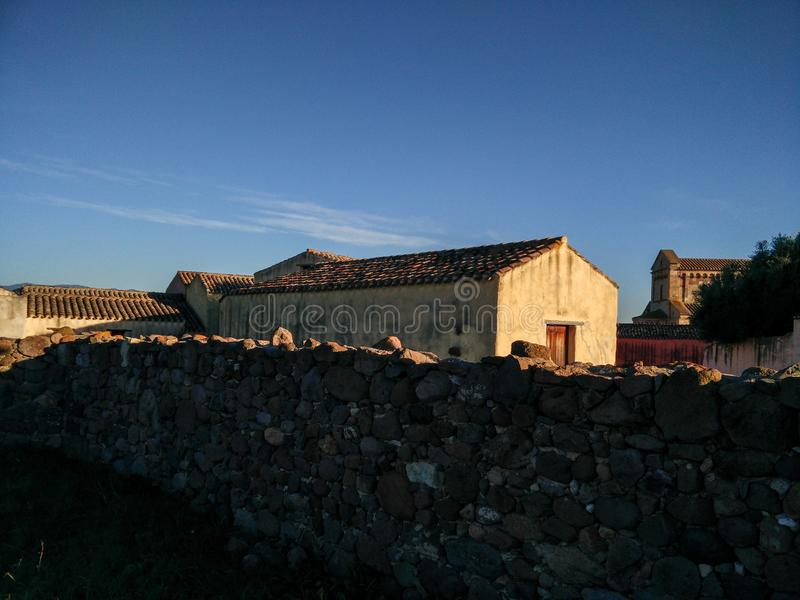 sardinia Arquitetura tradicional foto de stock