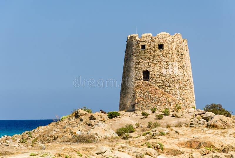 Sardinia, Barì Tower stock image