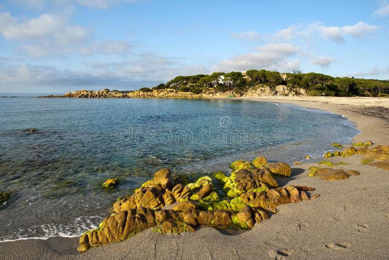 Download Sardinia beach stock photo. Image of colorful, blue, background - 15046304