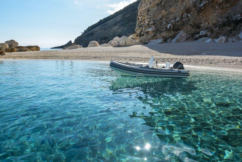 Sardinia beach stock image